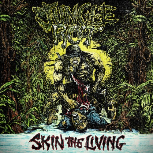Album Review: JUNGLE ROT Skin the Living