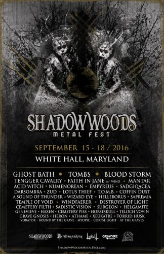 Full Metal Hipster #53 - Shadow Woods Metal Fest with Mary Spiro